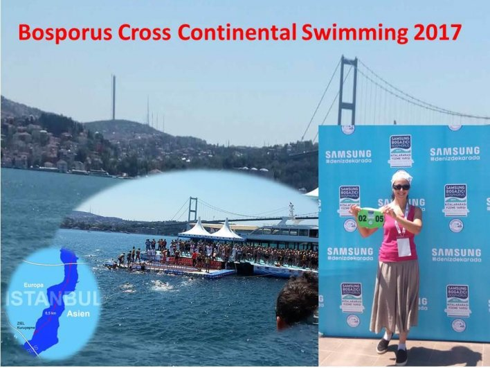 Bosphorus Cross Continental Swimming 2017